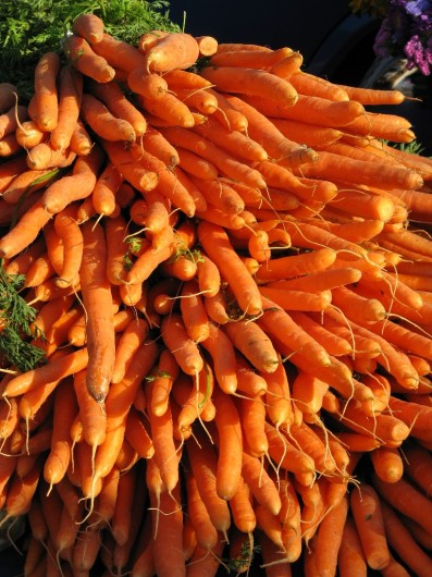 carrots1 397x530 Which Fruit Has The Most Beta Carotene (Carotene ß)?
